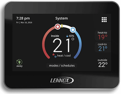 Lennox iComfort wifi thermostat